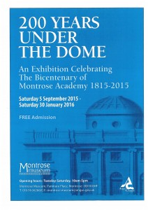 200 Years Under the Dome @ Montrose Museum | Montrose | United Kingdom